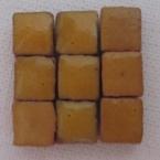 Micromosaique jaune safran 100 pieces 5mmx5mm