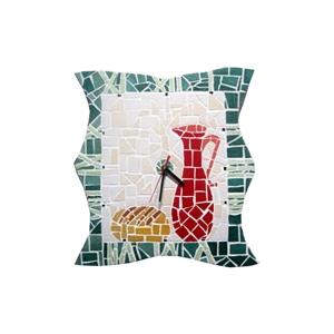 Kit mosaico artistico orologio fai da te cl design for Mosaico fai da te