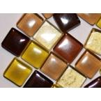 Mosaique Baccara Ambre 400 tesselles