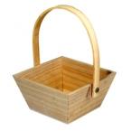 Panier de Paques en bois 10cmx10cm
