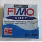 Pate FIMO Bleu Pacifique