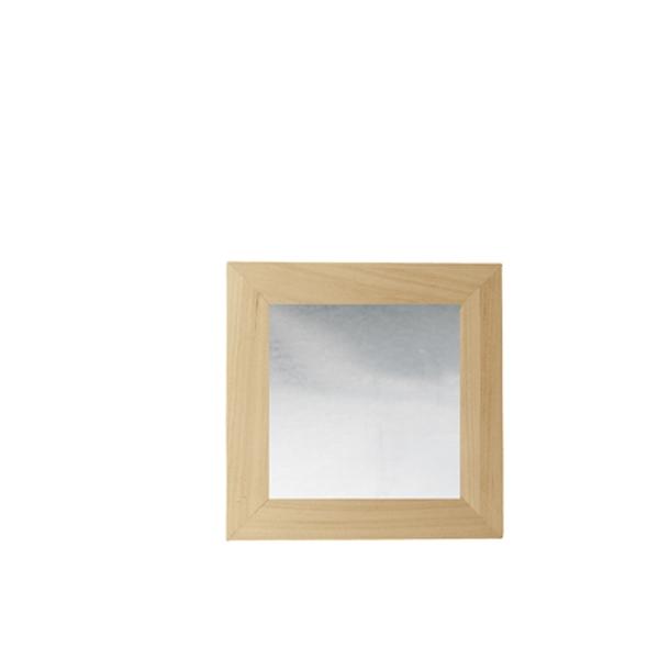 Cadre miroir 30cmx30cm maison pratic boutique pour vos - Comment decorer un plateau en bois ...