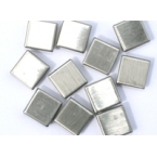 mosaique inox 10x10mm 50 tesselles