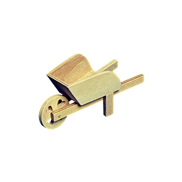Mini brouette en bois maison pratic boutique pour vos loisirs creatifs et votre deco - Brouette en bois de jardin ...