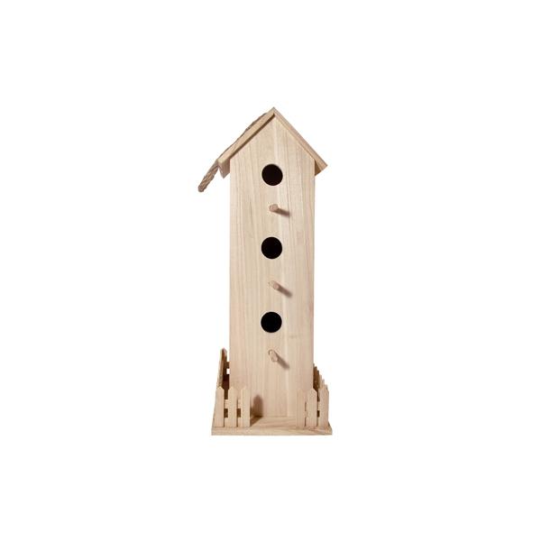 Support bois nichoir maison pratic boutique pour vos for Support bois a decorer