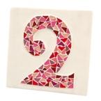 kit mosaique Numero de rue 3