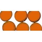 Petites perles de verre orange