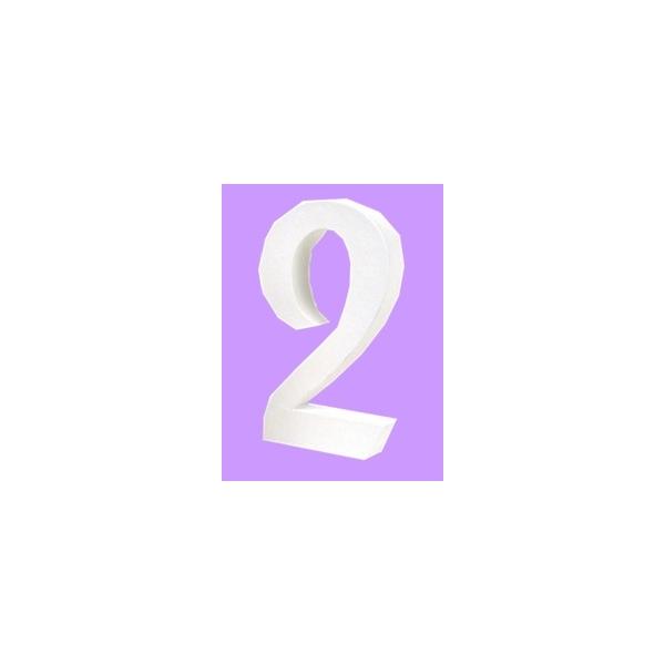 lettre 3d en carton 2 maison pratic boutique pour vos loisirs creatifs et votre deco. Black Bedroom Furniture Sets. Home Design Ideas