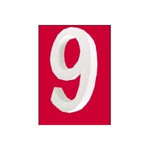 Lettre 3d en carton 9 maison pratic boutique pour vos - Chiffre en carton 3d ...