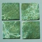 Mosaique romaine 10x10mm Vert foncé