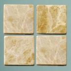 Mosaique romaine 10x10mm brun clair