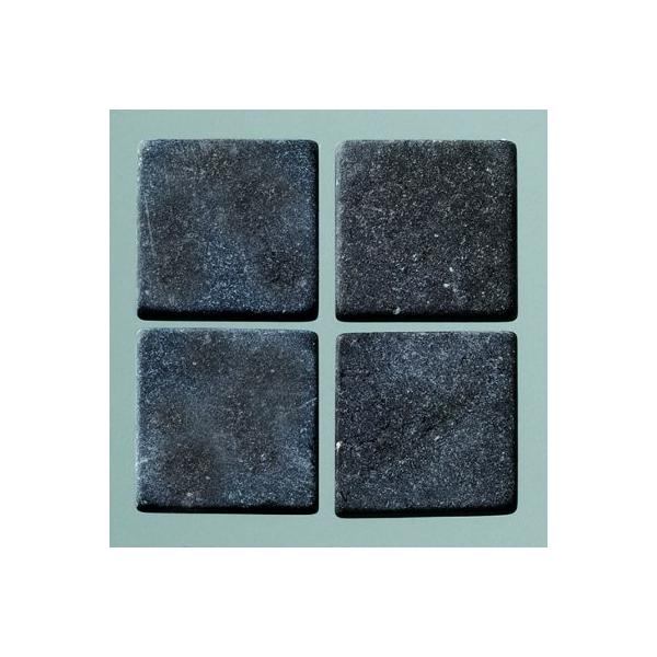 mosaique romaine 10x10mm noir maison pratic boutique. Black Bedroom Furniture Sets. Home Design Ideas