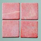 Mosaique romaine 20x20mm rouge
