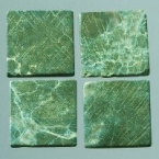 Mosaique romaine 20x20mm Vert fonce