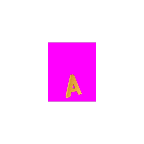 Lettre 3d en carton 4cm maison pratic boutique pour vos loisirs creatifs et votre deco - Chiffre en carton 3d ...