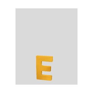 lettre 3d e en carton 4cm maison pratic boutique pour vos loisirs creatifs et votre deco. Black Bedroom Furniture Sets. Home Design Ideas