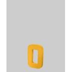 Lettre 3D O en carton 4cm