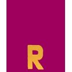 Lettre 3D R en carton 4cm