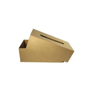 boite mouchoir en carton maison pratic boutique pour vos loisirs creatifs et votre deco. Black Bedroom Furniture Sets. Home Design Ideas