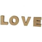 Lettre 3D LOVE 4cm