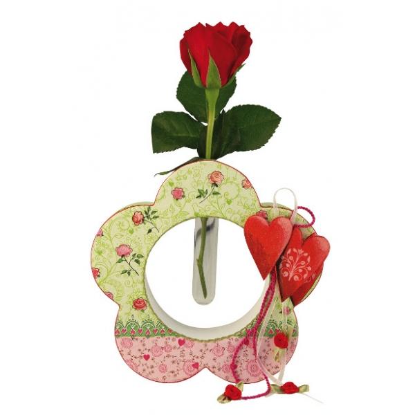 vase fleur avec eprouvette maison pratic boutique pour vos loisirs creatifs et votre deco. Black Bedroom Furniture Sets. Home Design Ideas