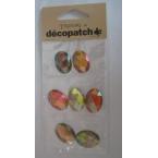 Cabochons Decopatch Precious Ambre