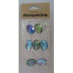 Cabochons Decopatch Precious Turquoise