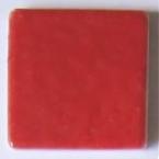 Tesselle Emaux de Briare rouge pivoine