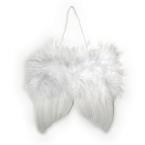 Ailes d'anges en plumes blanc 5cm