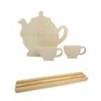 Support ardoise thé