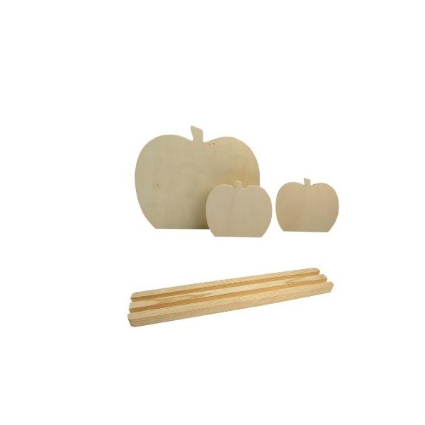 support ardoise pomme maison pratic boutique pour vos loisirs creatifs et votre deco. Black Bedroom Furniture Sets. Home Design Ideas