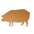 Support ardoise cochon mdf