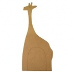 Support ardoise girafe