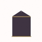 Support ardoise maison modele2