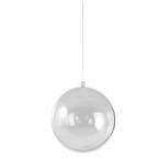 Boule transparente 8cm