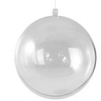 Boule transparente geante 16cm