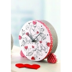 Creation horloge decopatch