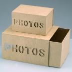 Set de 2 boites photos a decorer