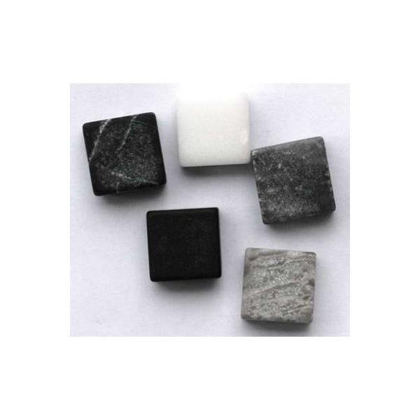 mosaique marbre gris noir 230 tesselles maison pratic boutique pour vos loisirs creatifs et. Black Bedroom Furniture Sets. Home Design Ideas