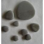 Galet mosaique gris touterelle