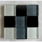mosaique verre baccara malachite 20x20mm 140 tesselles