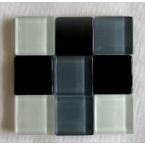 mosaique verre baccara malachite 20x20mm 280 tesselles
