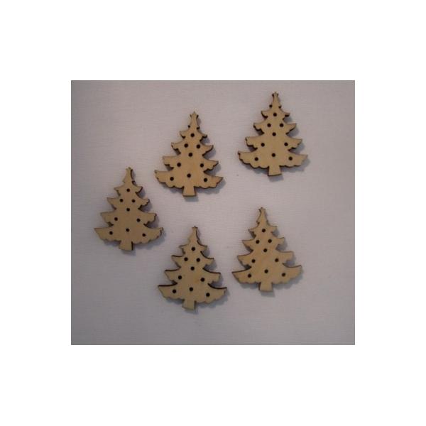 Sapin de noel miniature en boisx12 maison pratic - Boutique de loisirs creatifs ...