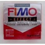 Pate Fimo effects glitter rouge