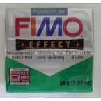 Pate Fimo effects glitter vert