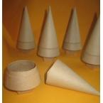 Decopatch lot de 5 mini sapins cones