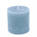 Bougie Bleu clair 7cm cylindrique