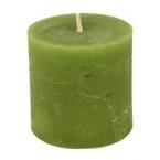 Bougie vert pomme 7cm