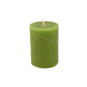 Bougie vert pomme 10cm