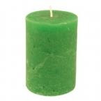 Bougie vert gazon 10cm
